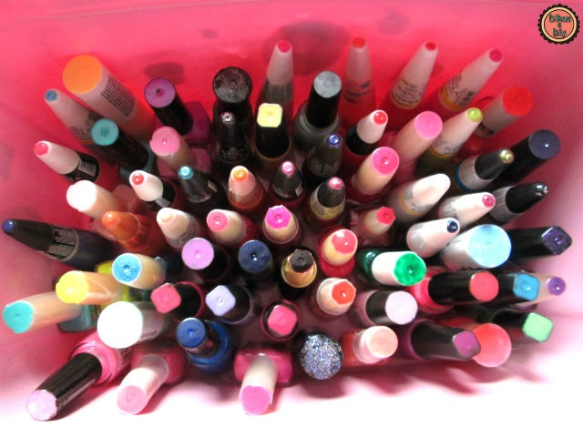 Faça você mesma - Organizando esmaltes - Dikas e diy