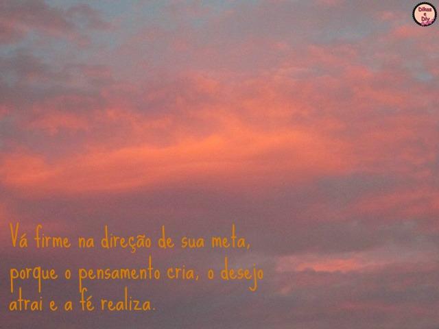 Fotografia - fotos e frases - frases para facebook- nuvens - rosa - blog Dikas e diy