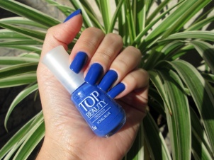 UNHAS DA SEMANA - ROYAL BLUE