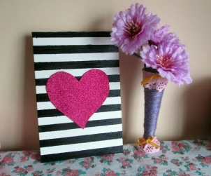 DIY QUADRINHO DECORATIVO