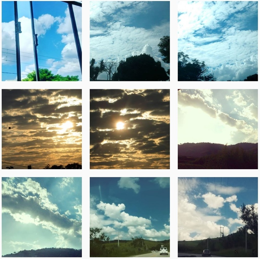 Fotografia - A colecionadora de nuvens - blog- dikas e diy